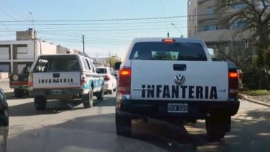 El operativo policial se llevó a cabo en dos viviendas barriales.