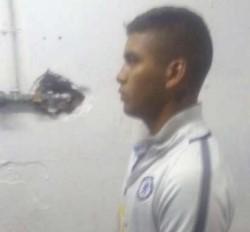 Fue apresado el viernes dentro de la pensión del club por robo a un conductor de UBER. Interviene la UFI 1 de Avellaneda.