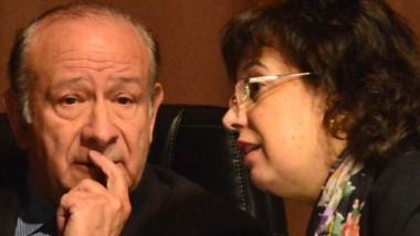 Jueces. Guanziroli (izquierda) y Monella, dos de los magistrados que firmaron la sentencia del caso.