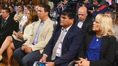 Muñoz habló del dasnevismo y de la impronta del gobernador Arcioni.