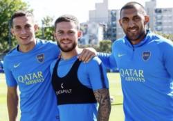 Con trabajos con pelota, el plantel completó un nuevo entrenamiento en el complejo Pedro Pompilio.
