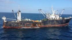 Multa millonaria. El pesquero pirata surcoreano pagó $25 millones para poder abandonar el país.