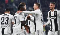Juventus se encuentra, por el momento, 19 puntos por encima del segundo lugar, el Nápoles, que juega el domingo.