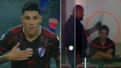 Alianza Lima presentará ante Conmebol un oficio por los insultos de Enzo Pérez y el uso del intercomunicador por parte de Gallardo.