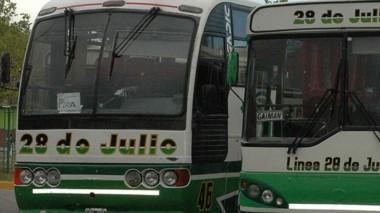 El transporte interurbano seguirá funcionando de manera normal.