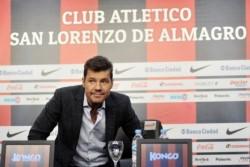 """Tinelli: """"Se me hincha el corazón de orgullo que por este título que logró San Lorenzo"""