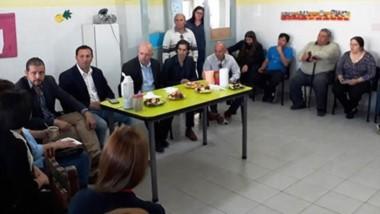 Adrián Pizzi y Adrián Maderna manifestaron que la decisión política es acompañar a la institución.