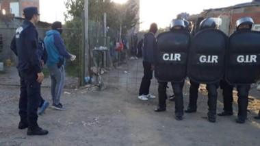 Cuatro personas fueron detenidas durante los allanamientos (foto ilustrativa)