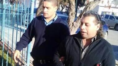 Gabriel López en una de sus presentaciones ante la Justicia en Rawson.