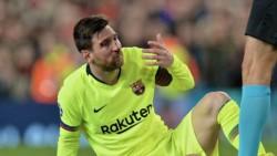 Messi tiene una fuerte contusión en la nariz y no sufre lesión en el tabique nasal.