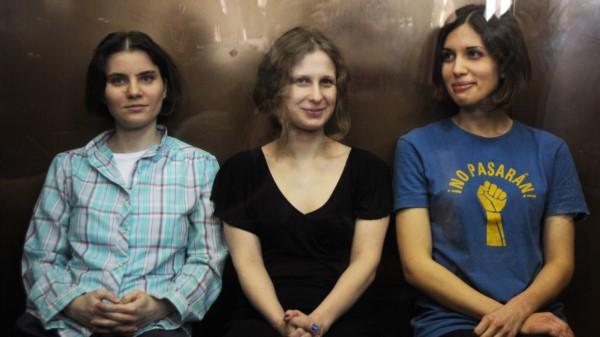 Las Pussy Riot detenidas.