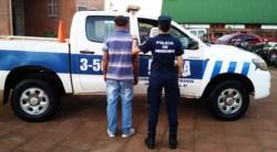Reinaldo Alberto Piotroski (37), detenido por la policía de Misiones.