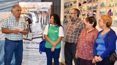 El homenaje fue en el Museo Municipal de Artes Visuales.