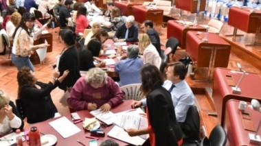 Ayer fue la última jornada del recuento en la Legislatura y hoy el Tribunal Electoral dará a conocer los datos definitivos en su página web.