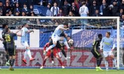 Juventus lo ganaba 1-0 con gol de Moise Kean y parecía que por fin se desataba la fiesta, pero la SPAL no quiso ser menos y le remontó el partido.