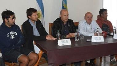 Los veteranos de Malvinas agradecieron a los muralistas, los integrantes del CENPAT y de la APPM por la concreción del proyecto.