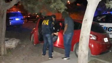 El procedimiento tuvo lugar sobre la calle Los Arrayanes al 300 de Playa Unión. Intervino la Brigada Federal.