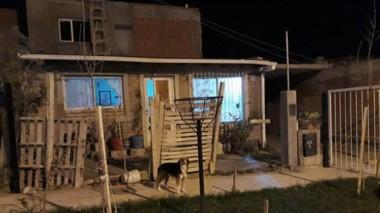 La vivienda de la calle Arzúa donde ocurriò el terrible asesinato.