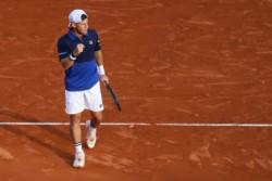 Rápido adiós para Fede Delbonis en Monte-Carlo: el argentino cayó ante Klizan por 7-6 (3) y 7-5.