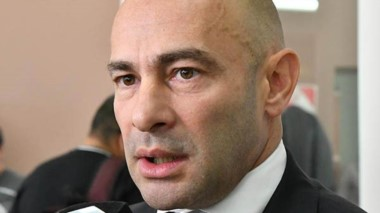 Ministro de Gobierno Federico Massoni