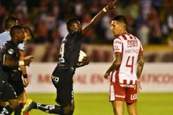 Unión quedó afuera de la Copa Sudamericana en manos de Independiente del Valle. Fue 4 a 2 en la definición por penales.