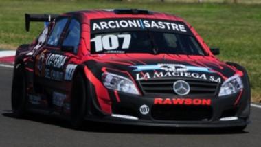 El capitalino Lucas Valle fue sexto en la tanda de entrenamientos que se corrió en el circuito de Concordia.