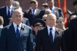 Benji y Vlad, en un encuentro reciente. Este vínculo es clave para el tan precario equilibrio en Medio Oriente.