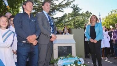 Hubo mucha emoción y un anuncio del intendente Adrián Maderna para los excombatientes de Malvinas.