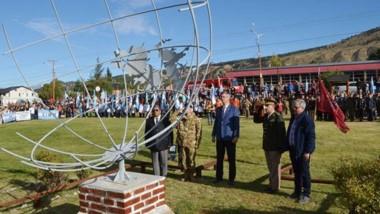 Un segundo acto homenaje a las Islas Malvinas, se realizó en el Regimiento de Caballería de Exploración  3 .