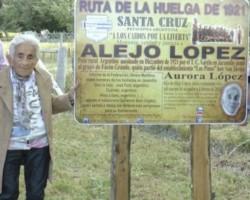 Aurora López, incansable en su búsqueda.