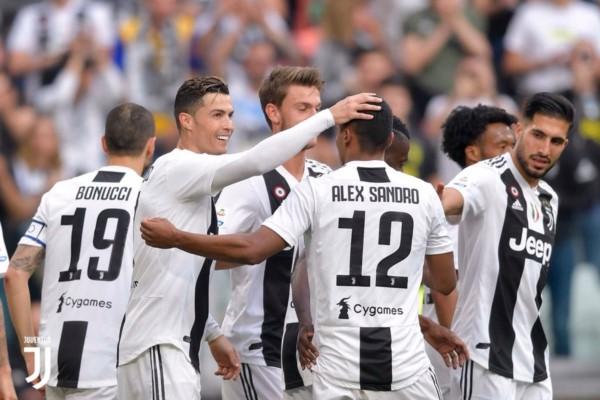Juventus octacampeón. Récord absoluto en las 5 Ligas top de Europa.