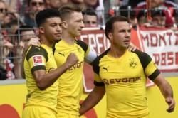 A cuatro jornadas para el final del campeonato, el Borussia Dortmund no quiere decir adiós a sus posibilidades de título.