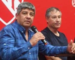 El vicepresidente Pablo Moyano salió a bancar el proyecto de Ariel Holan.