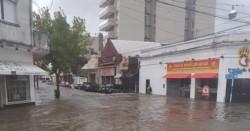 Resistencia, la capital chaqueña, pasada por agua. Cayeron 212 milímetros...