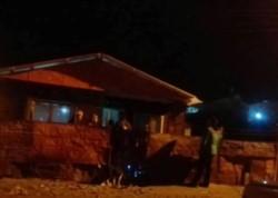 La casa en donde fue hallado asesinado Cabrera. (Foto: Radiovisión)