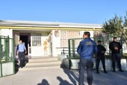 Policía científica intervino en las inspecciones realizadas en establecimientos de Rawson