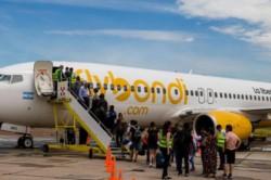 En el caso de Flybondi sus empleados, según indicaron en la compañía low cost. están agrupados en un sindicato único que no adhiere al paro.