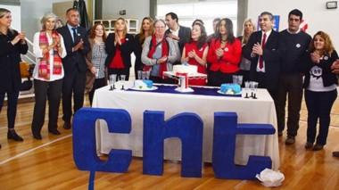 Una emotiva ceremonia se realizó para festejar los 95 años del Colegio Nacional de Trelew.
