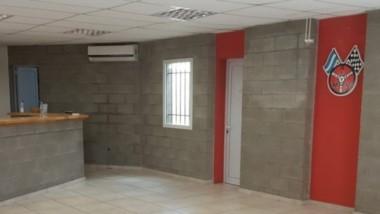 Así luce el quincho que la institución posee dentro de las instalaciones.