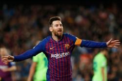 Messi entró en el ST y demoró 17 minutos para romper el marcador contra Levante.