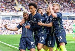 Con gol del Kun Agüero, City vuelve al primer lugar.