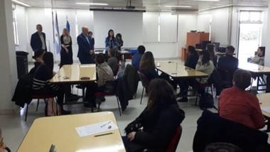 Los exámenes se realizaron de manera simultánea en Rawson, Buenos Aires, Santa Fe, Córdoba y La Rioja.