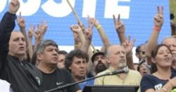 """""""Desde el country hay muchas cosas que no se ven"""", les señalaron desde el palco a los funcionarios de Cambiemos"""