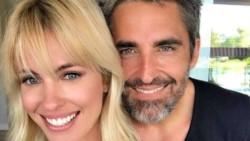 Nicolás Paladini junto a su esposa, la modelo Rocio Guirao Díaz