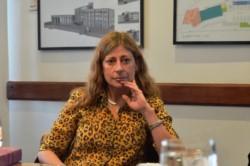 La jueza correccional de Ushuaia, Felicitas Maiztegui Marcó.