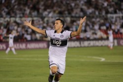 Olimpia ganó el partido número 300 en la Copa Libertadores de América.
