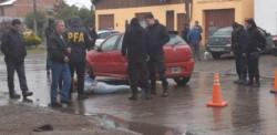 Se entregó el evadido en delegación de la Policía Federal de Río Gallegos.
