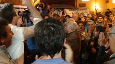 Soria estuvo tres veces en campaña en El Bolsón, pero no convenció.