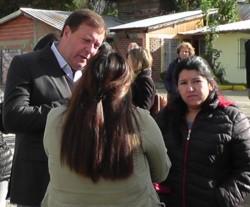 Weretilneck dialogó con vecinos de El Bolsón