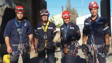 Al rescate. Los bomberos orgullosos de sus hombres y mujeres.